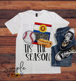 Baseball 'Tis the Season Shirt, Take Me Out to the Ballgame, Custom Shirts
