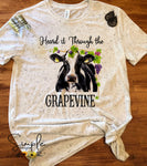 Heard it Through the Grapevine T-shirt, Raglan, Country, Farm Life