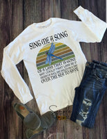 Sing Me a Song T-shirt, Outlander, TV Shows, Entertainment, Custom Tees