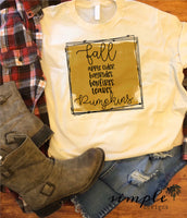 Fall Pumpkins T-shirt, Long Sleeve Tees, Raglans, Fall