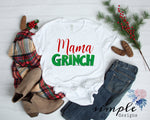 Grinch Shirt, Mama Grinch, Daddy Grinch, Personalized Merry Christmas, National Lampoons
