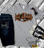 Def Leppard Diamond Logo. Tees, Lyrics T-shirt, Raglan, Music Lyrics