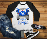 Lexington Football Raglan, Football Shirts, Team Shirts