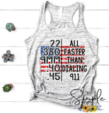 All Faster Than Dialing 911 T-shirt, Custom Tees, Tank Tops