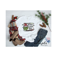 Merry Grinchmas Grinch Christmas T-shirt, Christmas Shirts