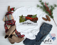 Let It Snow Christmas Shirt T-shirt, Christmas Shirts