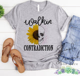 Walkin Contradiction what You See is What You Get Custom Tees, Tank Tops