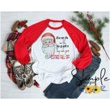 Beards Are Like Tequila They Make Your Clothes Fall Off Santa Christmas T-shirt, Christmas Shirts