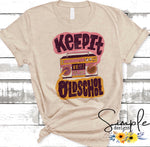 Keep It Old School T-shirt, Raglan, Music Tees, Lyrics