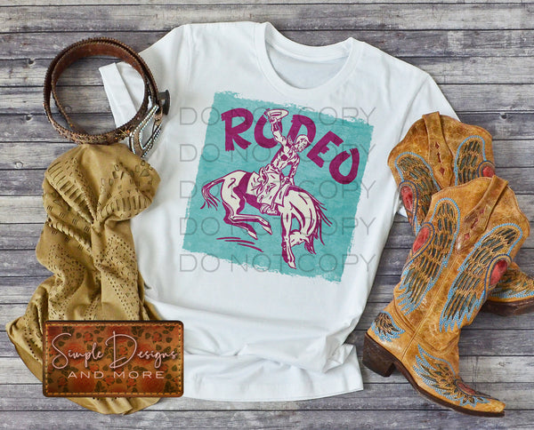 Rodeo T-shirt, Custom Tees, Tank Tops