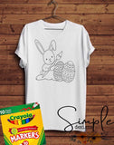 Painting Bunny Color-It, Washable Marker Designs, Puzzle, Pillow Cases
