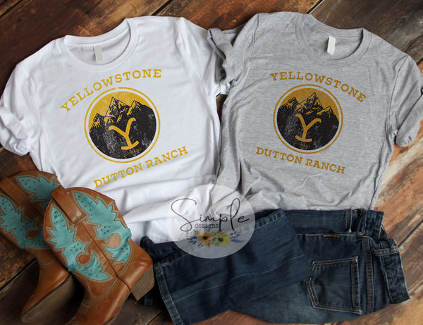 Yellowstone Dutton Ranch T-shirt, Yellowstone T-shirt