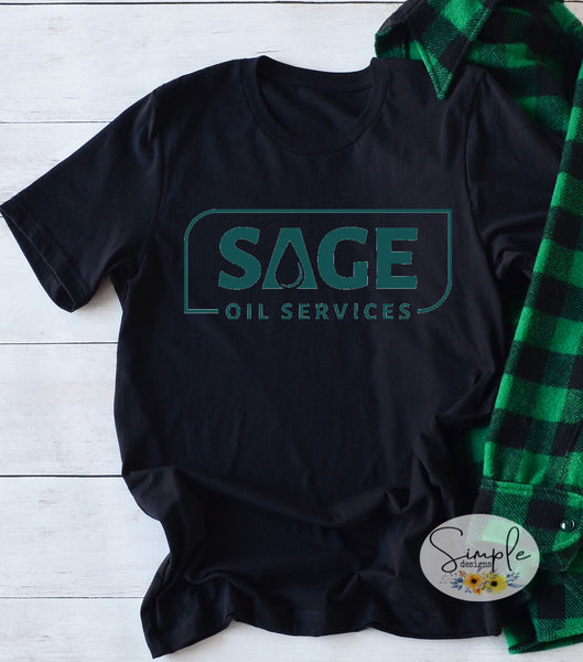 Sage Oil Services T-shirt