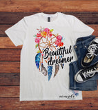 Beautiful Dreams T-shirt, Dream catcher
