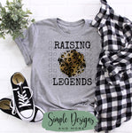 Raising Legends Leopard T-shirt, Sports, Raglans
