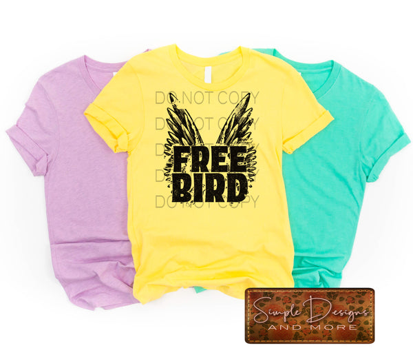Freebird T-shirt, Custom Tees, Tank Tops