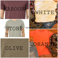 Pumpkin Distressed Look Bella Canvas Fall T-shirt Sale
