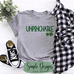 Unpinchable T-shirt, St Patrick's Day Graphic Tees, Custom Raglans