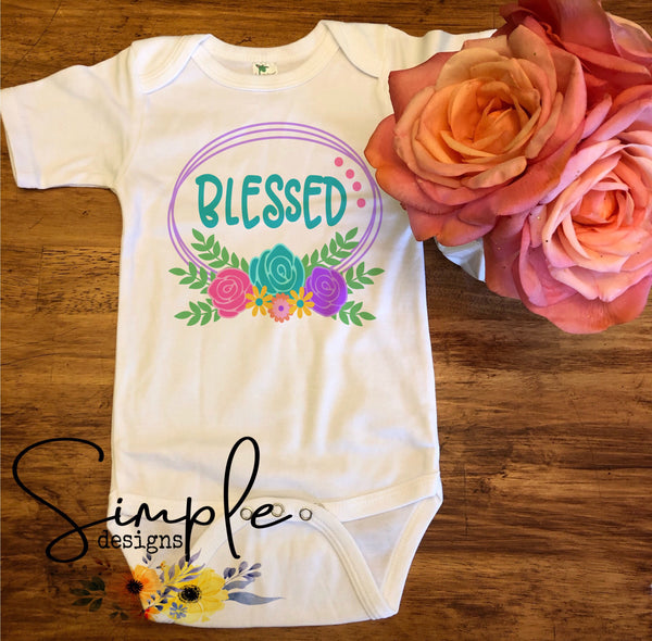 Blessed Easter T-shirt, Easter Apparel, He is Risen, Resurrection