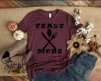 Feast Mode Pumpkins Fall Sale Bella Canvas Tees