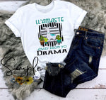 Ll'amaste Stay Away From Yo Drama T-shirt, Custom Tees, Tank Tops