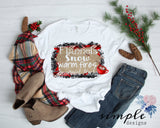 Flannels Snow warm Fires and Peppermint Mocha Christmas Shirt, Christmas Holiday Cheer