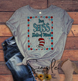 In a Seuss State of Mind T-shirt, Dr Seuss, Kids, Youth, Raglan