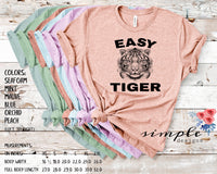 Easy Tiger T-shirts, Joe Exotic Bella Canvas, The Tiger King