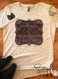 Some Things Just Go Better TogetherBrown Label T-shirt, Country Music Graphic Tees, Custom Raglans
