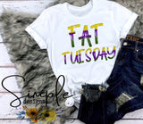 Fat Tuesday T-shirt, Mardi Gras, NOLA, New Orleans, King Cake