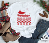 Burn Dust Eat My Rubber Christmas Shirt, National Lampoons Christmas