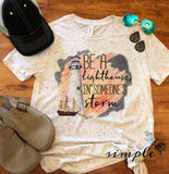 Be Someone's Lighthouse in a Storm T-shirt, Faith, Hope, Love, Blessed Shirt