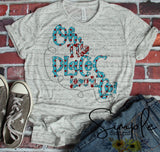 Oh the Places You Will Go No Hat T-shirt, Dr Seuss, Kids, Youth, Raglan