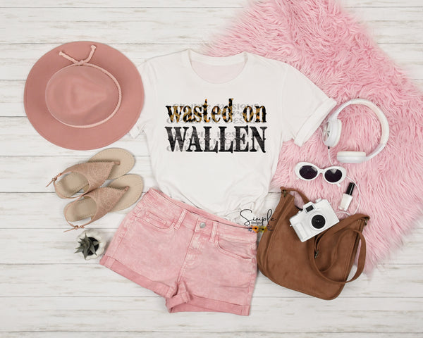 Wasted on Wallen Morgan Wallen T-shirt, Custom Tees, Tank Tops