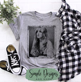 Stevie Nicks T-shirt, Custom Tees, Tank Tops