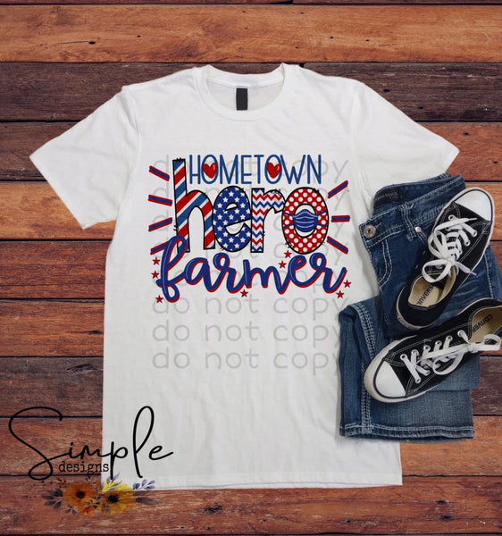 Hometown Heroes T-shirts, Custom Occupation, Essential Employee T-shirts, Making the World Turn