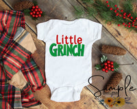 Onesie Grinch Shirt, Mama Grinch, Daddy Grinch, Personalized Merry Christmas, National Lampoons