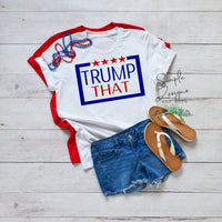 Trump That 2020 T-shirt, Shirts, Kids, Youth, Raglan