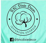 BNC Dixie Business T-shirt, custom Tees Raglans