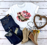 Heels and Hustle T-shirt, Work Flow, Lady Boss