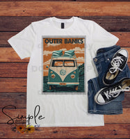 Outer Banks VW T-shirt, Custom Tees, Tank Tops