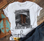 Ladies Love Country Boys Youth Tees, Country Music, Country Boy, Western