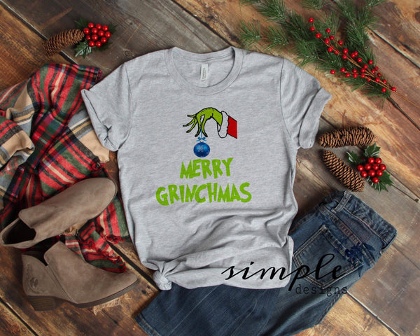 Grinchmas Christmas Shirt, Merry Grinchmas