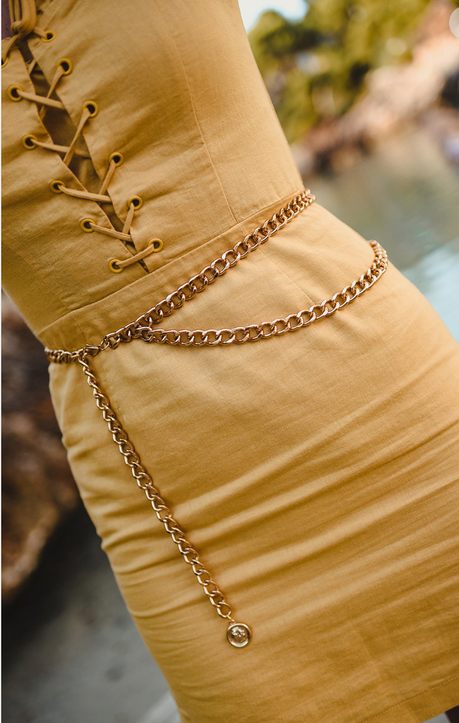 CHAIN BELT - Lupethelabel