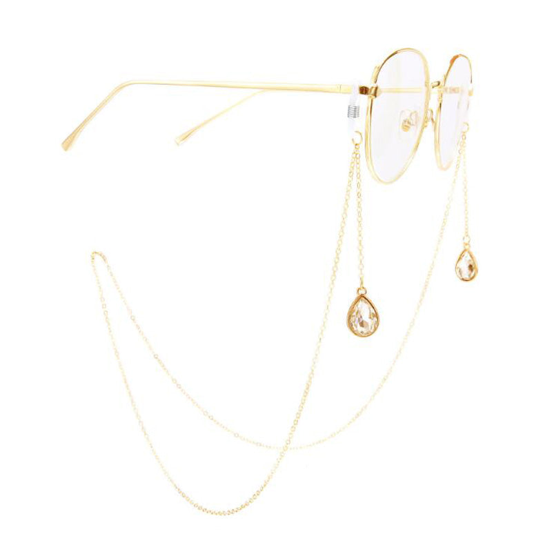 RETRO GLASSES CHAIN - Lupethelabel