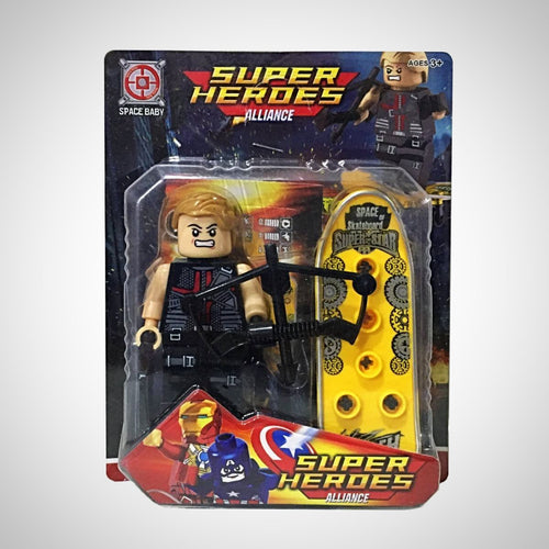 Arqueiro - Vingadores - Super Heroes Alliance - - Action Figures Avengers Bloco De Montar Colecionáveis Disney My Geek Stock