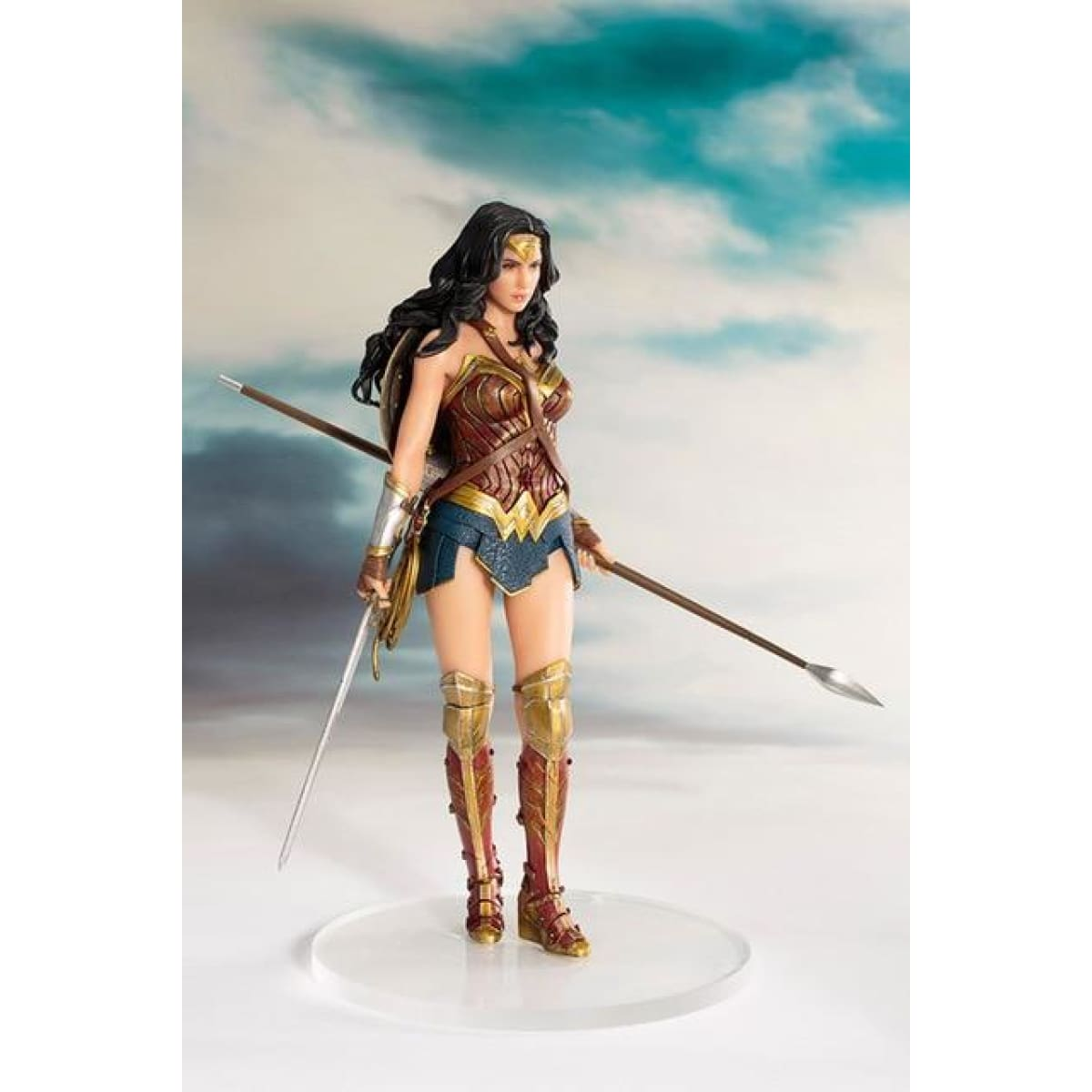 ARTFX+ Justice League The Flash Action Figure Batman The Dark Knight Wonder Woman Superman Action Comics PVC Collection Model - wonder woman