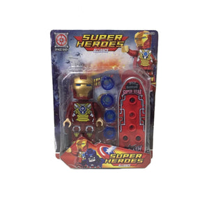 Iron Man - Super Heroes Alliance - - Action Figures Avengers Age Of Ultron Bloco De Montar Colecionáveis My Geek Stock