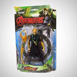 Loki - Vingadores: Era De Ultron - - Action Figures Age Of Avengers Colecionáveis My Geek Stock