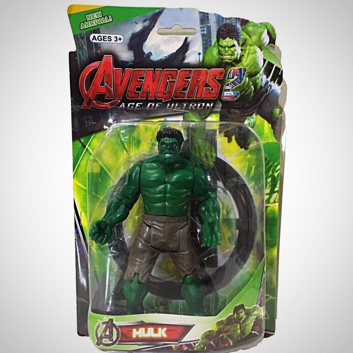 O Incrível Hulk - Vingadores: Era De Ultron - - Action Figures Age Of Avengers Colecionáveis My Geek Stock